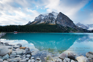 Lake Louise, Mt. Fareway, banff national park, alberta, canada