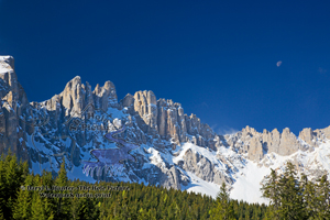 Mt. Latemar, Italian Alps, Dolomite Mountains, south tyrol