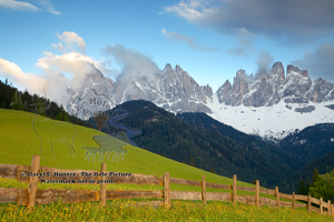 Olde Range, Val di Funne, dolomite mountains, south tyrol, italy