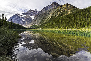 Mount Edith Cavell Reflection, Lake Cavell, Jasper National Park