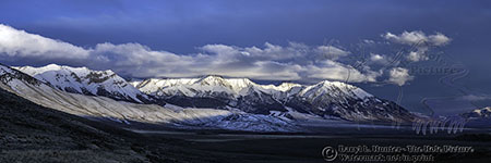 Mount Borah, Mountain Storm, Sunset, snow capped mountains, Mackey Idaho