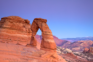 Delicate Arch, sunset, southwest, colorado plateau, Arches National Park, Moab, Utah