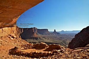 False Kive, Anasazi Ruins, Canyonlands National Park, secret location, Moab, Utah, desert landscape