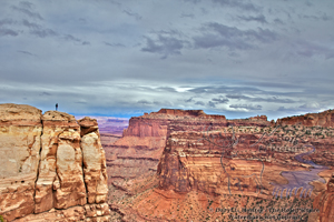 hiker, canyonlands, canyon, mesa, buttes, light, vista, view, Moab Utah, Canyonlands Natonal Park