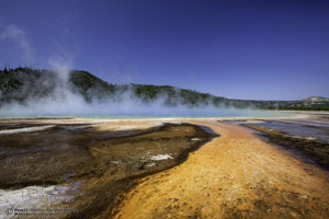 Colors of Grand Prismatic Spring
