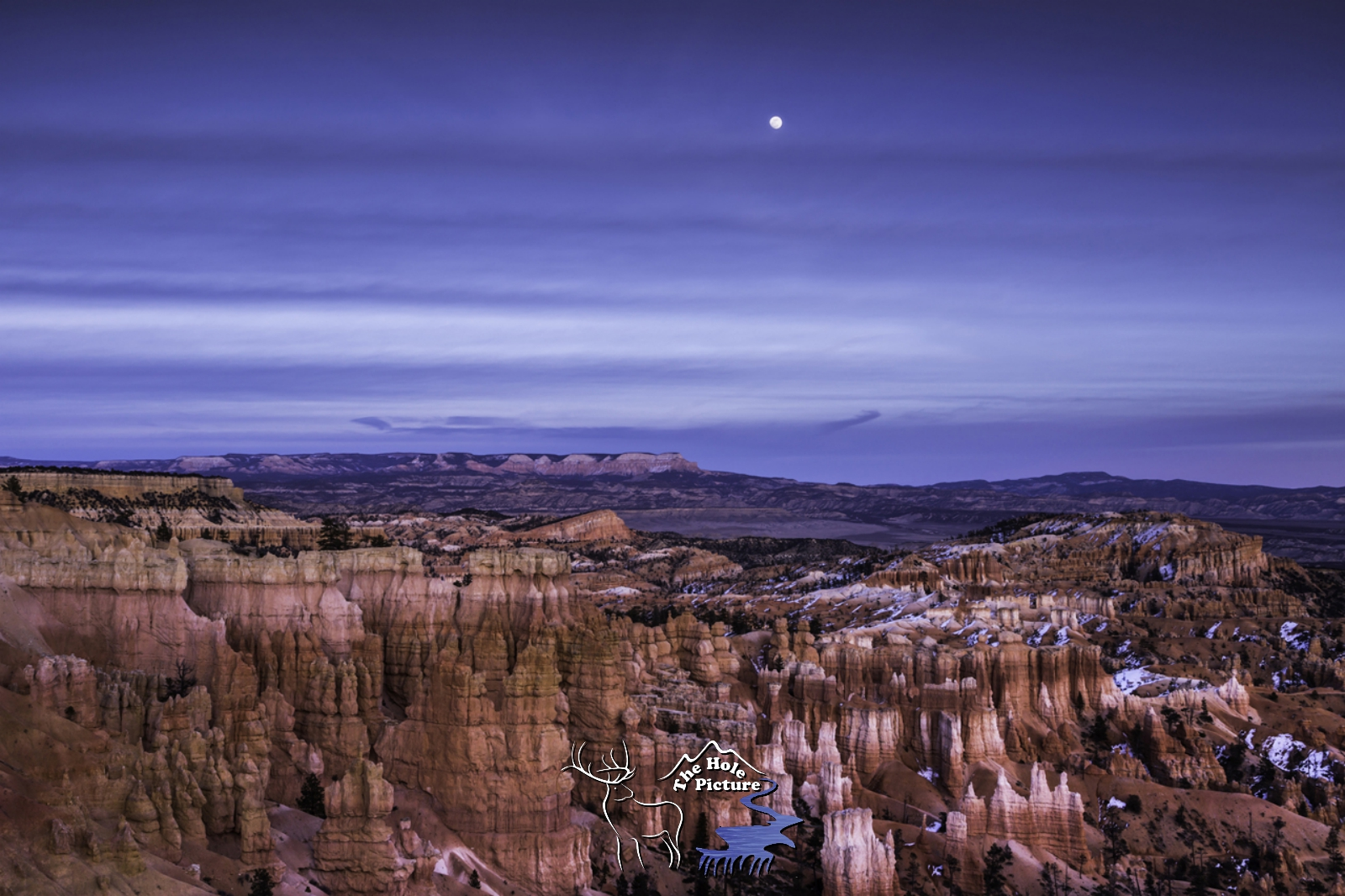 Full moon, Bryce Canyon